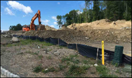 Povall Engineering, new york Erosion control, hudson valley erosion control, residential drainage, commercial drainage,